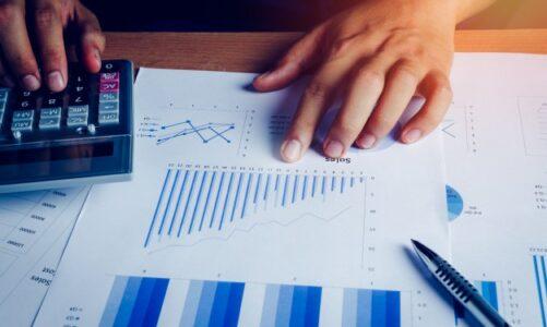 Analisando dados em uma folha